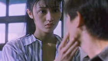 Adèle (Michelle Reis) reappearing before Ken (Andy Lau)